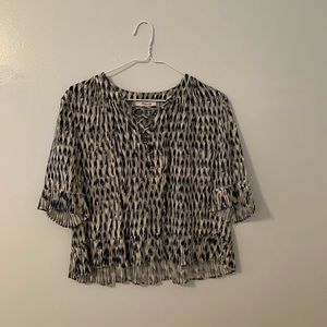madewell patterned top